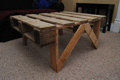 How To Make A Coffee Table From Pallets Pallet Coffee Table All