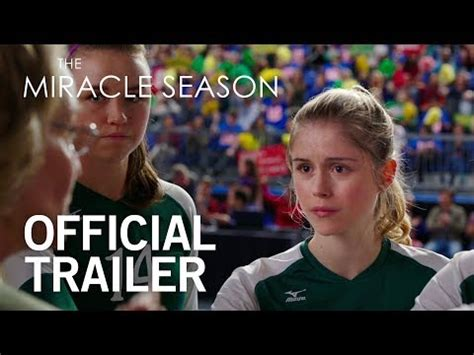 The Miracle Season Reddit The Miracle Season Official Trailer Opening In Theaters April 13 2018 Zay Zay