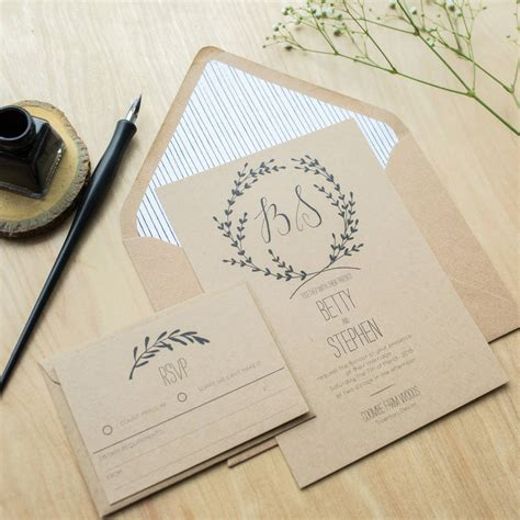 whimsical wedding invitations by sincerely may notonthehighstreet