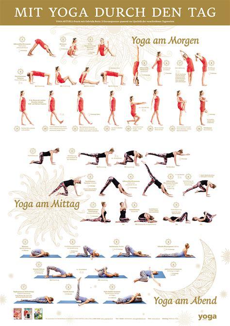 Yoga Plakat Kostenlos by Quot Mit Yoga Durch Den Tag Quot Poster Von Yoga Aktuell Im