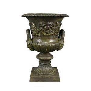 jardin vase m 233 dicis en fonte vasque medicis salon de