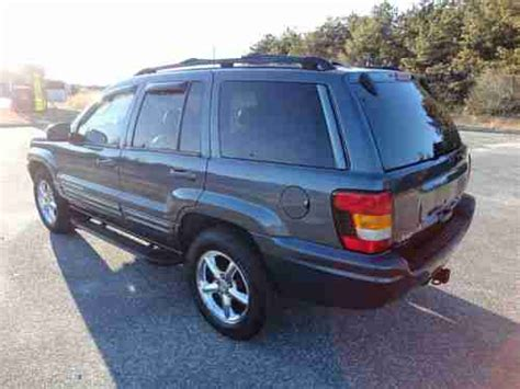 wrecked black jeep grand cherokee find used 2002 jeep grand cherokee limited v8 awd 4x4 suv