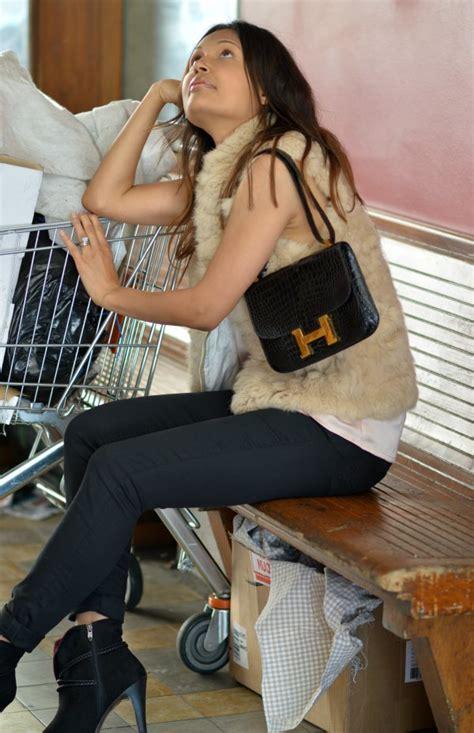 Heels Up5 Black Ht17 Diskon bundled up swiss fashion fur vest