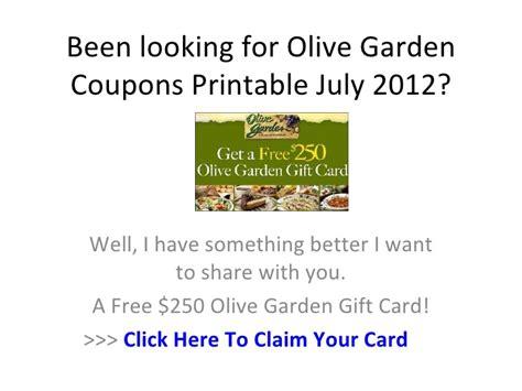 olive garden restaurant coupons