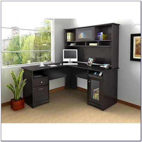 l office desk with hutch office l shaped desk with hutch desk home design ideas
