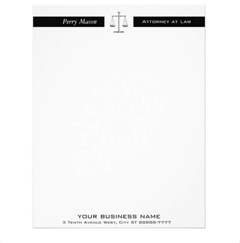 lawyer letterhead sles madrat co