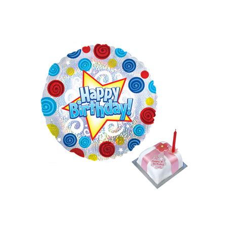 birthday balloon gift birthday balloon and cake delivery