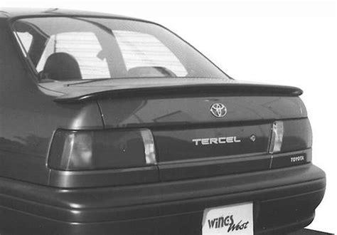 Toyota Tercel Spoiler Toyota Tercel Vis Racing Flushmount Spoiler 591103