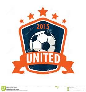 Football Team Logo Template by Football Badge Logo Template Design Soccer Team Vector