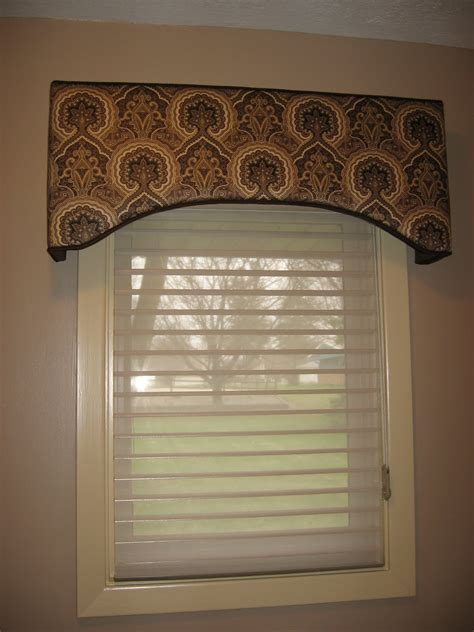 idea cornice window fashions bathroom window treatment