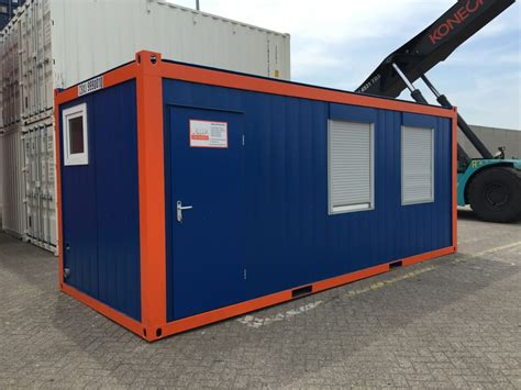Office Container 20 Ft Toilet 20ft cabin with minkitchen and toilet cbox containers