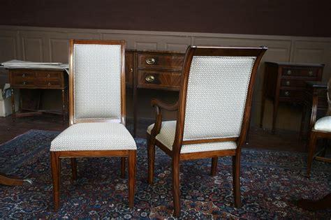 Mahogany Dining Room Furniture by Mahogany Dining Room Chairs Regency Upholstered Ebay