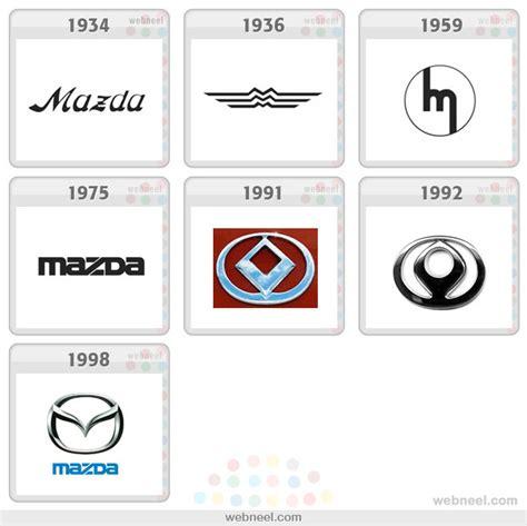 mazda logo history mazda logo evolution history 13