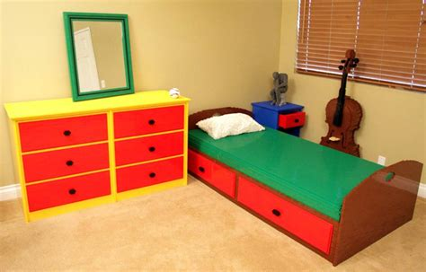 how to d233cor lego themed bedroom interior designing ideas