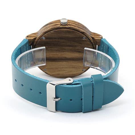 Jam Tangan Kayu Wanita Bobo Bird B0 bobo bird jam tangan kayu pria wc28 blue