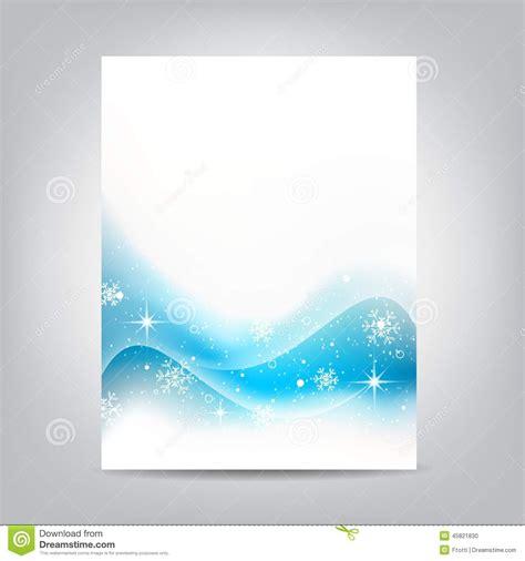 Blank Christmas Flyer