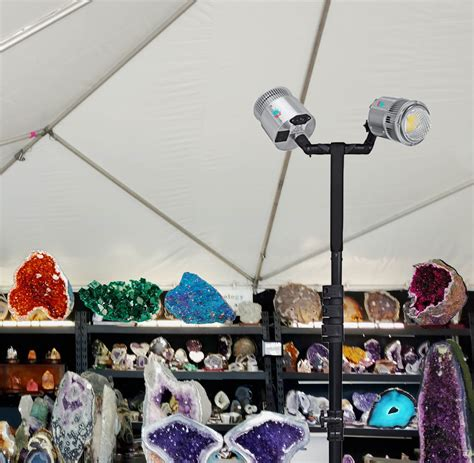 outdoor craft show lighting led trade show tent tripod lights led trade show lighting