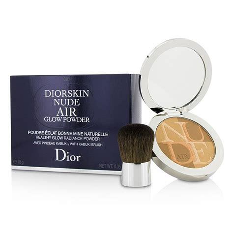 Diorskin Air Powder Include Kabuki Brush diorskin air healthy glow radiance powder with kabuki brush 001 fresh christian