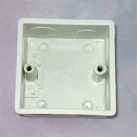 single wall switch box type 86 in the wall socket