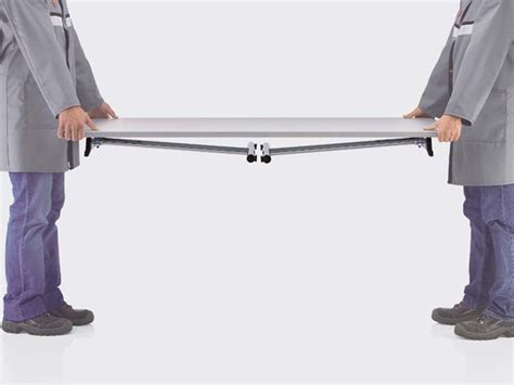 scrivania pieghevole scrivania pieghevole rettangolare sleight brunner
