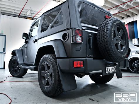 Jeep Vinyl Wrap Vehicle Vinyl Wrapping And Car Paint Protection 6