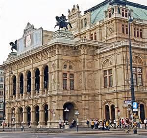 vienna state opera house austria traveling