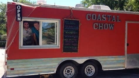 check out this new destin food truck coastal chow parked