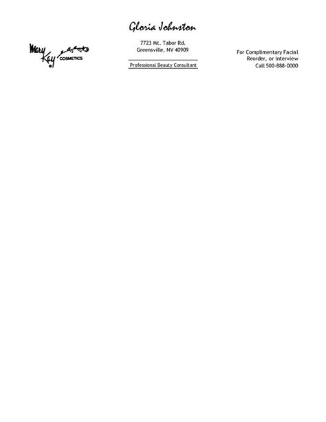 personal letterhead templates free printable personal letterhead templates free