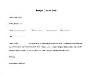 doctor sick note template doctor note templates for work 8 free sle exle