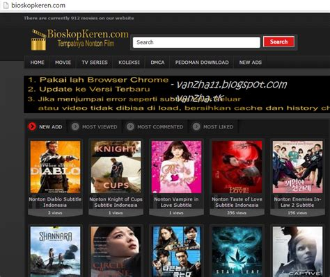 membuat website nonton movie indahnya berbagi nonton film terbaru streaming teks indo