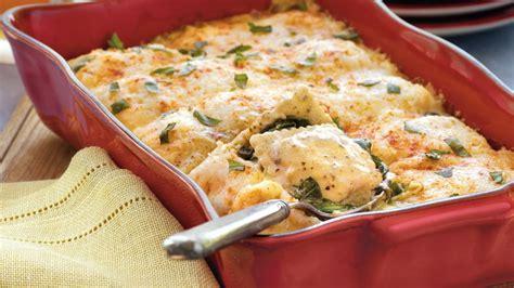 Betty Crocker Lasagna Recipe With Cottage Cheese by Spinach And Ravioli Lasagna Recipe Bettycrocker