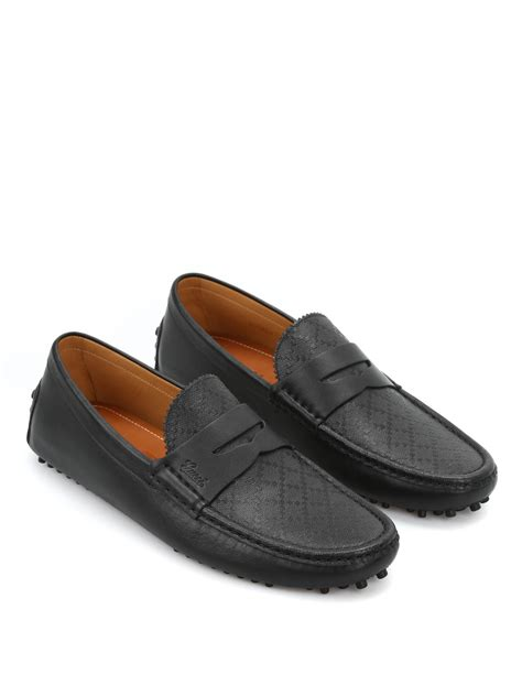 gucci driver loafers diamante leather driver loafers by gucci loafers