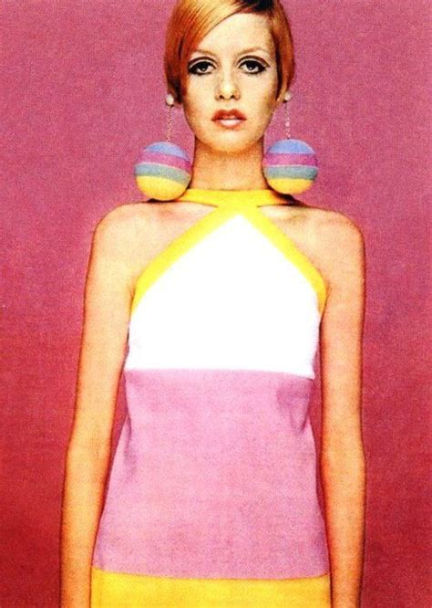 1960s models with hair pink twiggy 1960s mod vintage fashion swinging sixties
