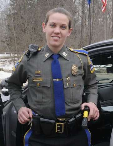 hair cts for female state troopers in conn new fairfield resident trooper got start as danbury police