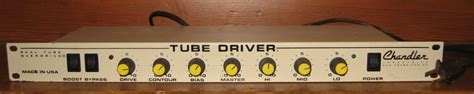 Chandler Driver Rack by Chandler Driver Rackmount Effects Database