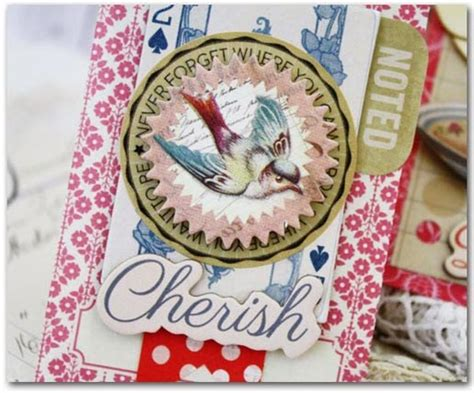 Cherry Blossom Decorative Mini Label Sticker Pack s paperie february color challenge by phillips