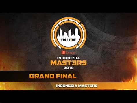 fire shopee indonesia masters grand final