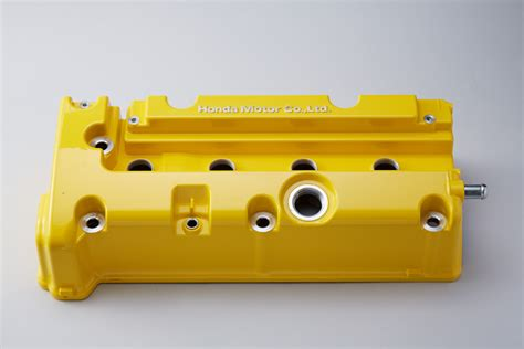 Spoon Carbon Cover Engine spoon sports valve cover yellow k series parts