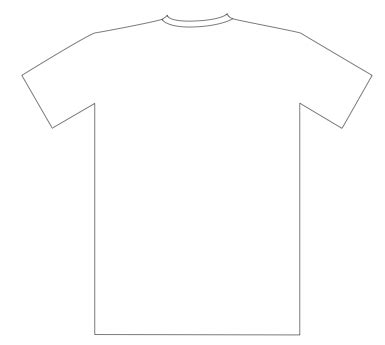 T Shirt Outline Back by Shirt Outline Related Keywords Suggestions Shirt Outline Keywords
