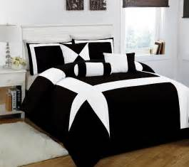 11 king jefferson black and white bed in a bag w