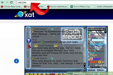 doodle xat typer how to type in the doodle tool on xat 9 steps with pictures