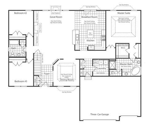 charleston floor plan new construction homes st louis area charleston 3