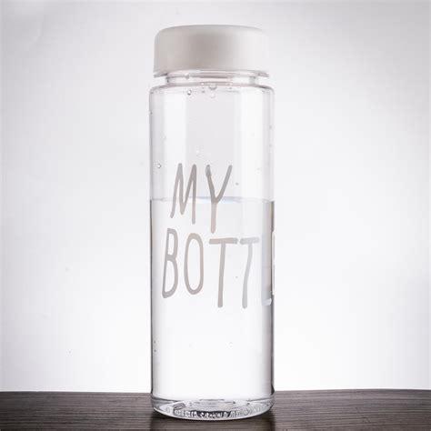 My Bottle 500ml clear my bottle sport fruit juice water cup portable 500ml travel bottle color ebay