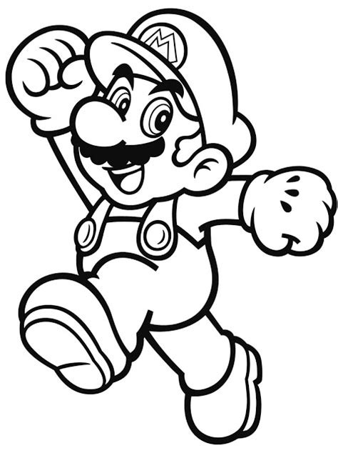 mario and luigi coloring page printable coloring pages