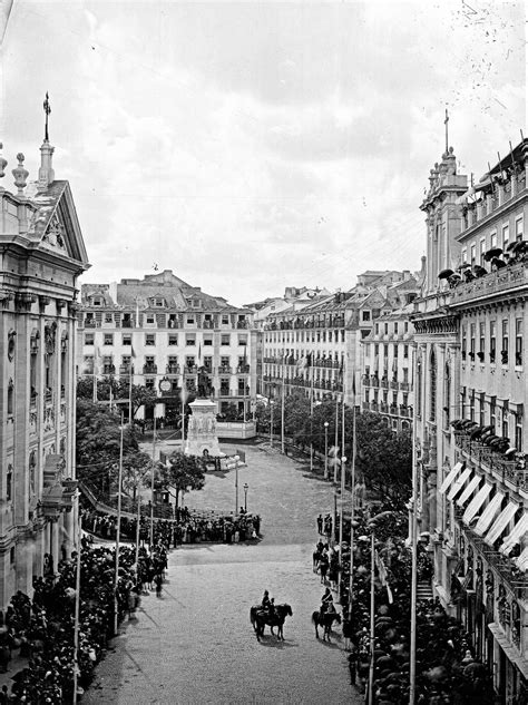Praça Luís de Camões, Lisboa, Portugal, [1900
