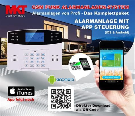 funk alarmanlage test multi kon trade funkalarmanlage m2b gsm set 4 test