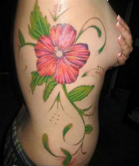 big flower tattoos purple hibiscus quotes and meanings quotesgram