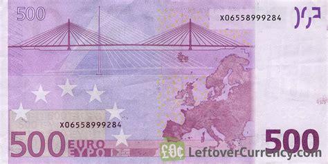euros banknote  series exchange