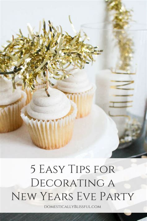 Pinterest Decorate Your Home 5 easy tips for decorating a new years eve party
