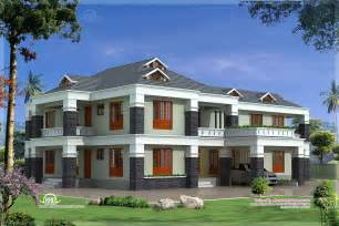 Exclusive House Plans by 4000 Sq Feet Luxury Villa Exterior Home Kerala Plans